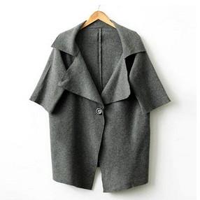 男式双面绒大衣的搭配