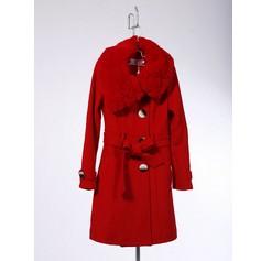 批发羊绒大衣前如何挑选生产厂家呢?